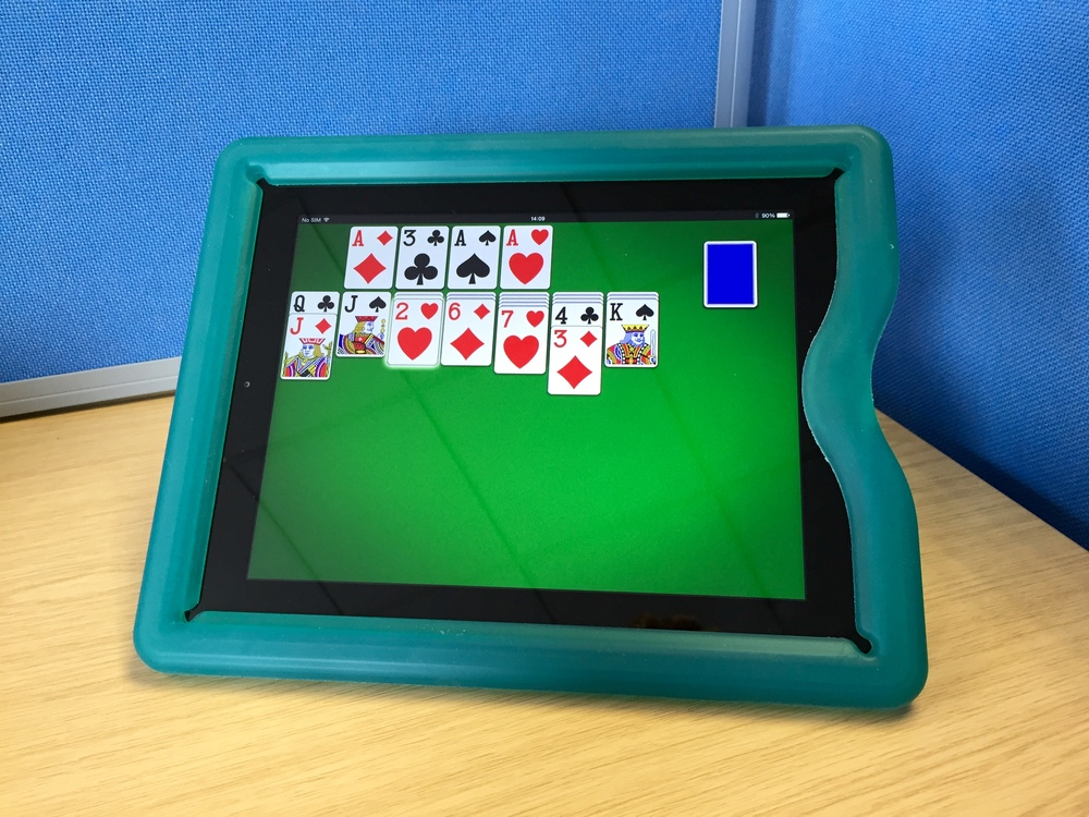 Solitaire by MobilityWare on the Apple iPad