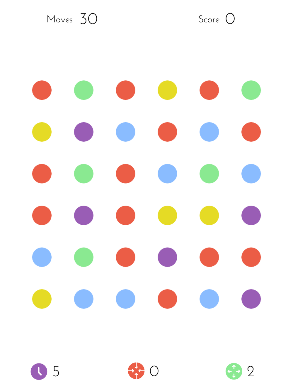 Dots: A Game About Connecting by Playdots, Inc., recommended app for people living with dementia