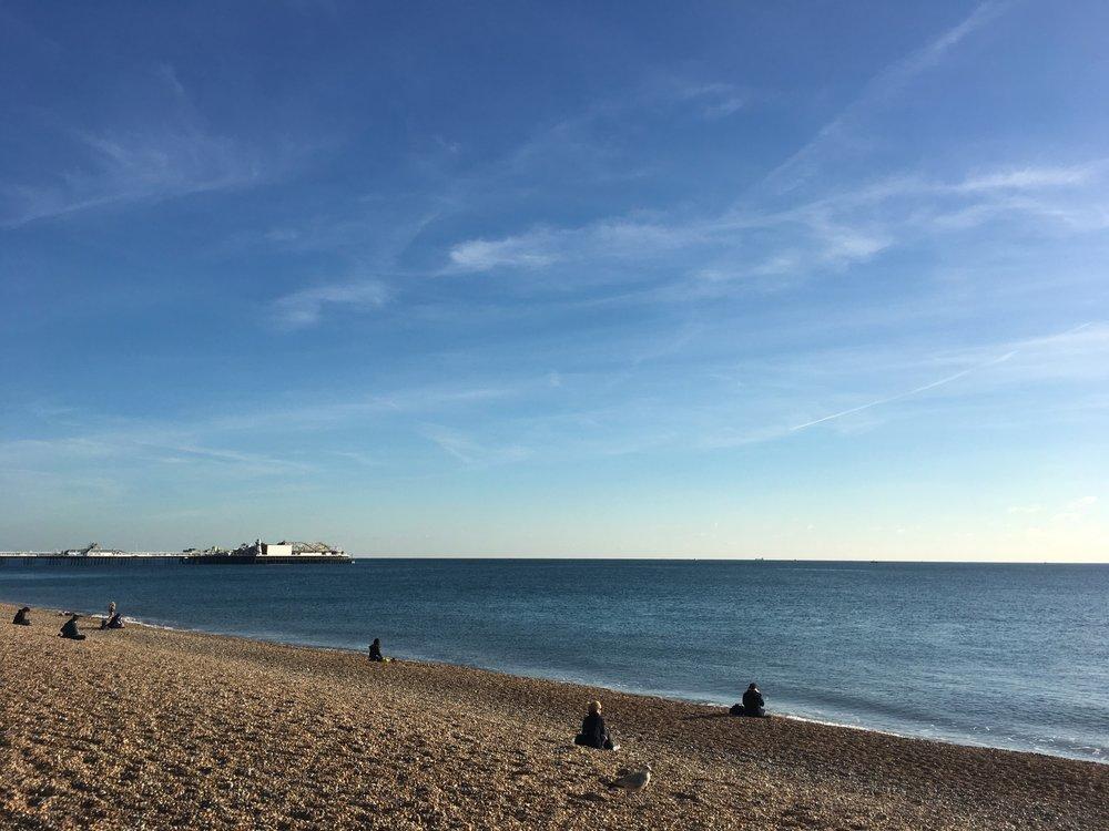 Brighton beach, location of the 11th UK Dementia Congress 2016