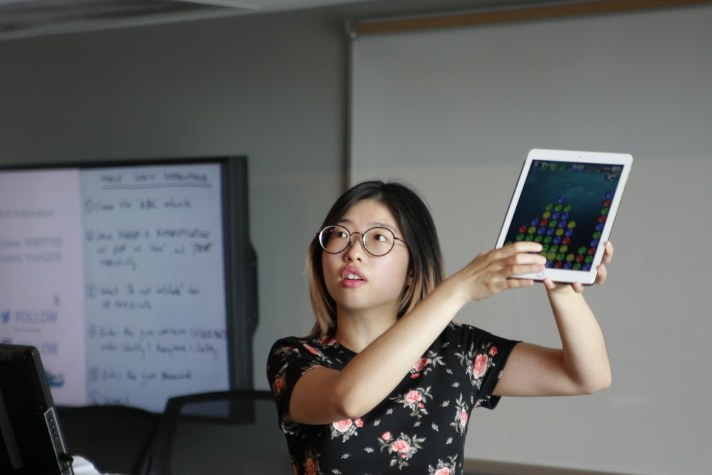 Yuhan Pan, a member of the Astell Lab, was invited to give a keynote presentation on the AcTo Dementia project.
