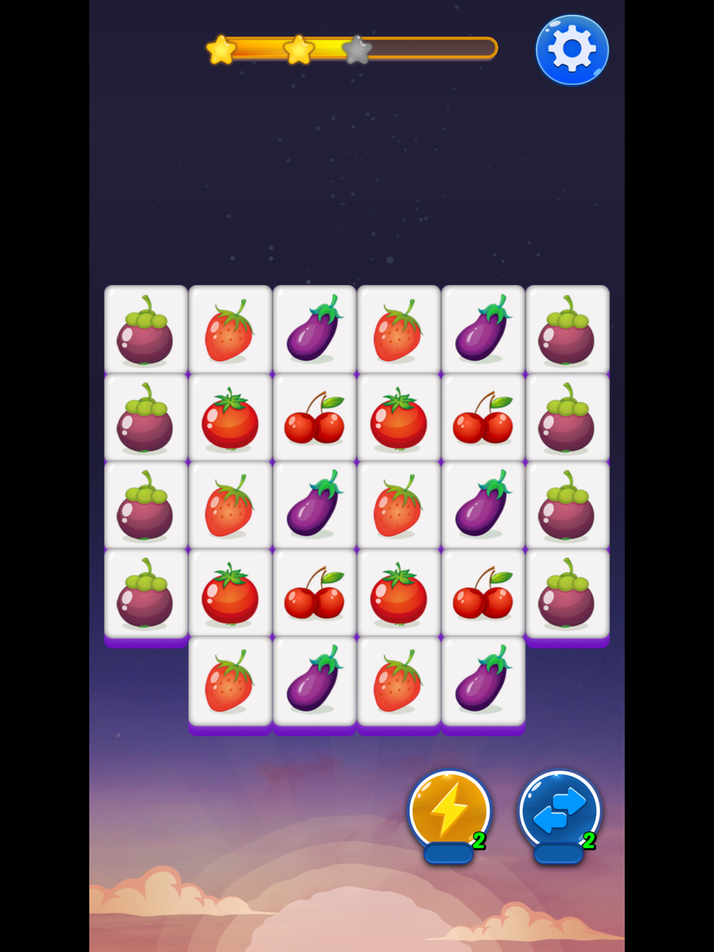 fruit matching by kou qing yun, recommended app for people living with dementia