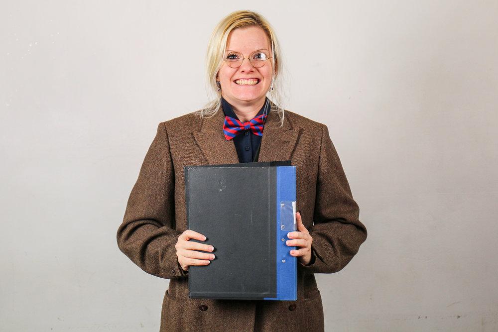 Rebecca Frankel, archivist.