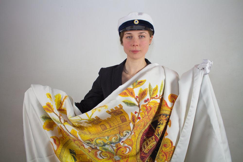 Anna Olsson, Fanbärare.