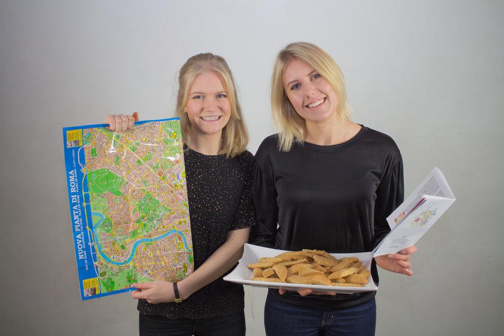 Tove Ekman och Emma Erlandsson,Novischförmän,