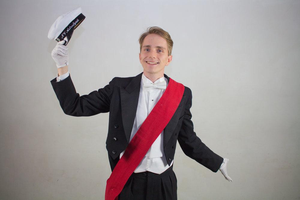 Niklas Uhlin, Övermarskalk.