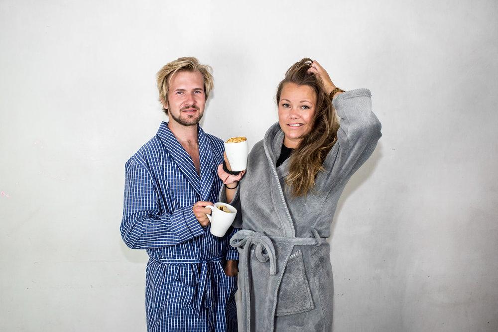 Axel Johnson och Josefina Almén