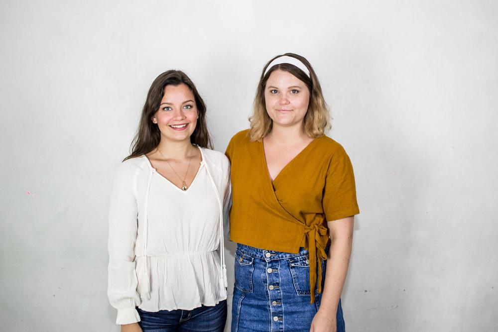 Marlaina Lahger och Kristina Zettersten