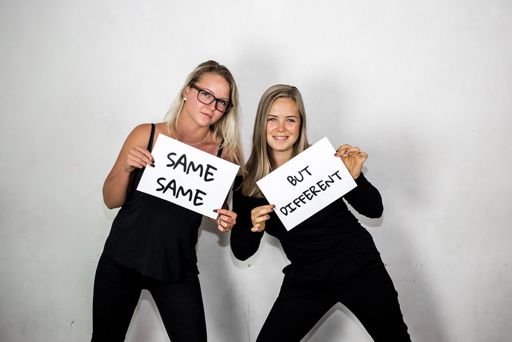 Sara Löwegren och Sara Fälth