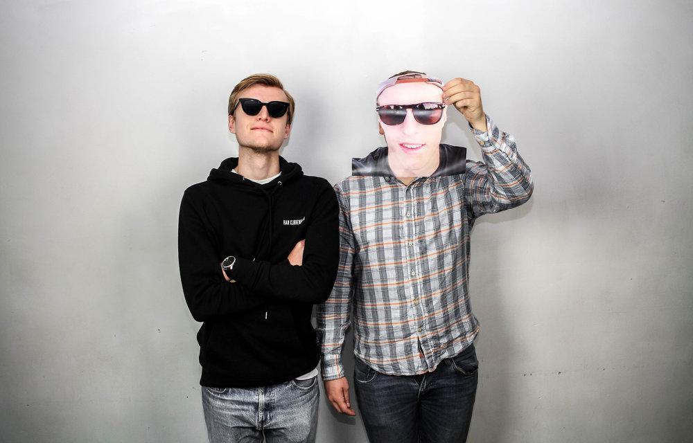 Figge Roth och Hugo Dahlbom
