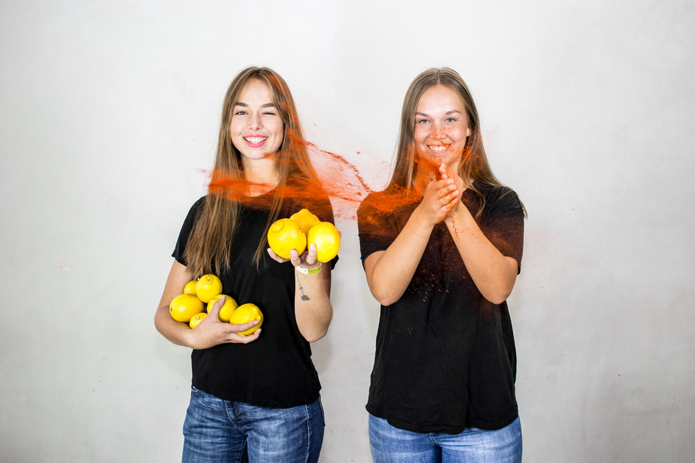 Selma Dahl och Agnes Dahl