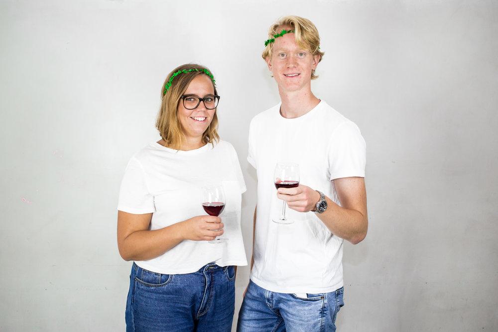 Hanna Månsson och Kristian Haugen