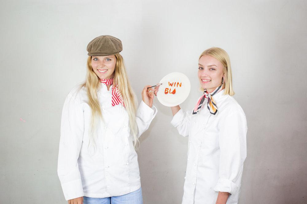 Isabelle Svensson och Ebba Blomberg