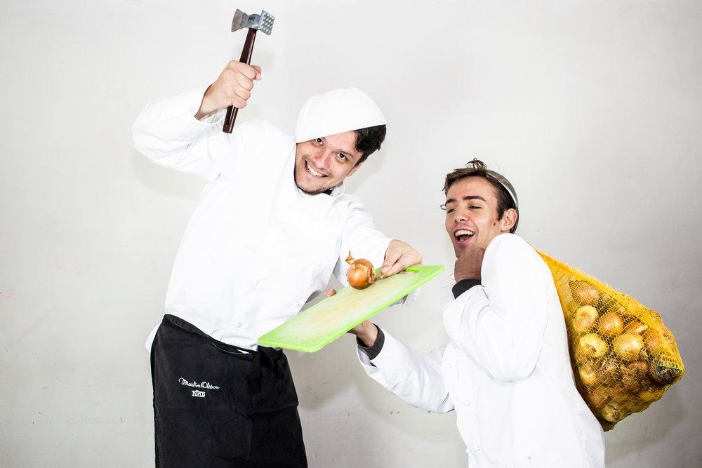 Sigfrid Forsberg och Rodrigo Pires
