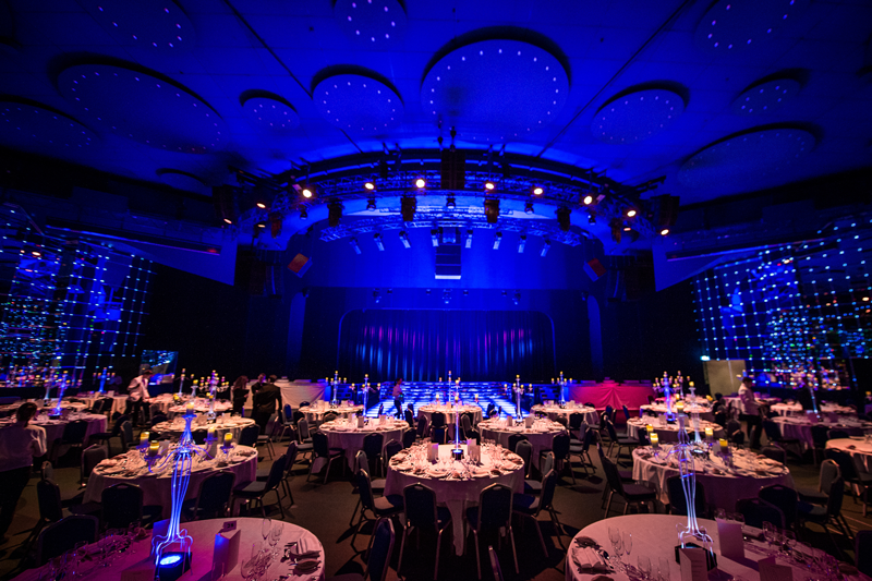 'One of the most fascinating event halls in Europe' Salle Des Etoiles