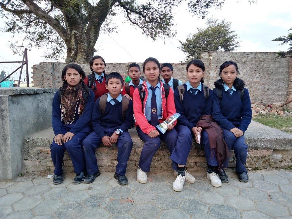 Child club members of Bal Kumari Basic School.jpg