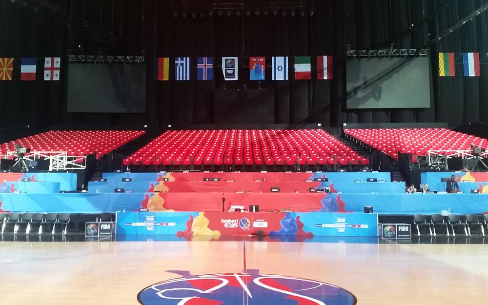 Infrastructure média et VIP -EuroBasket 2015