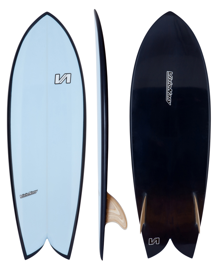 Retro Fish Visionary Surfboards