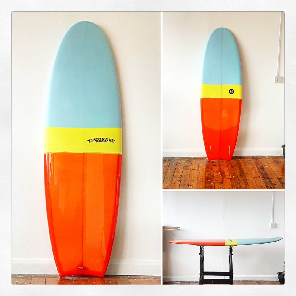 Custom Mini Simmons Surfboard