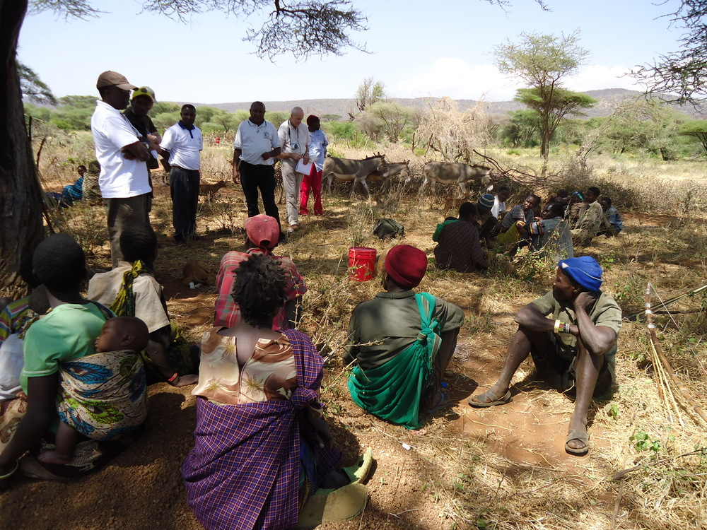 Meeting between Members of the Hadzabe community and the delivery partner.JPG