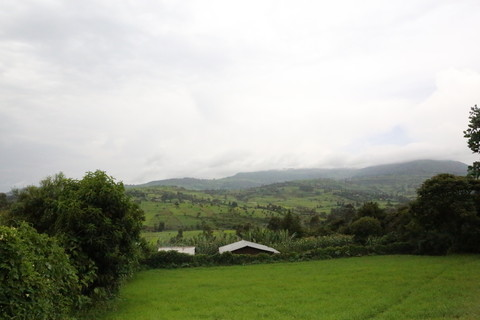 The hills surrounding Kilfo. Image by WaterAid/ Behailu Shiferaw.