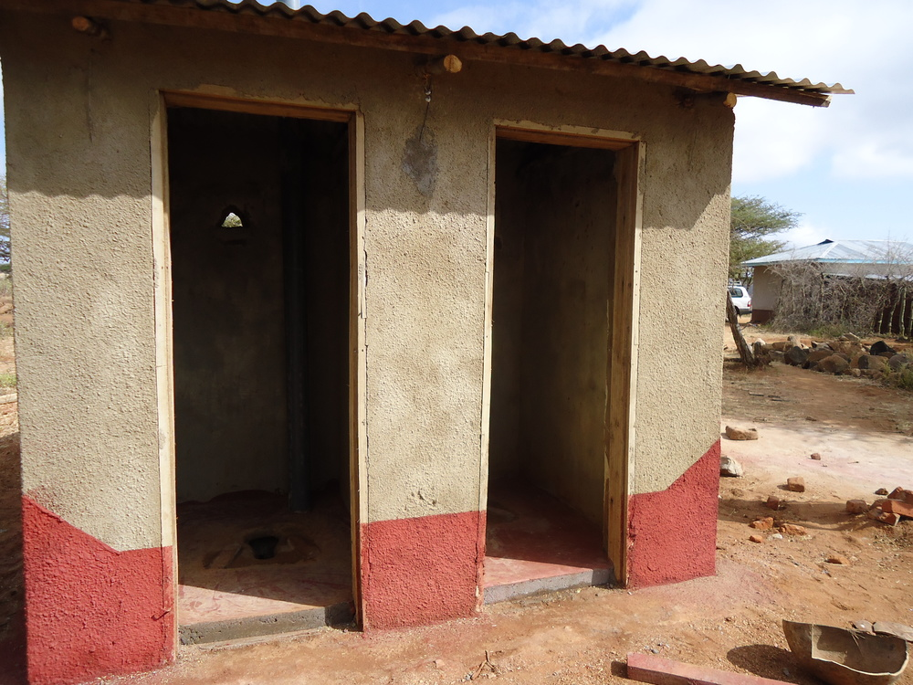 Improved latrine toilet, WaterAid
