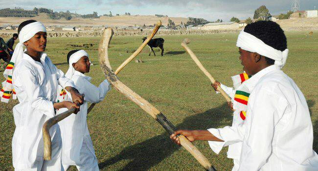 Traditional game of Ganna. Photo from: Afrotourism.com