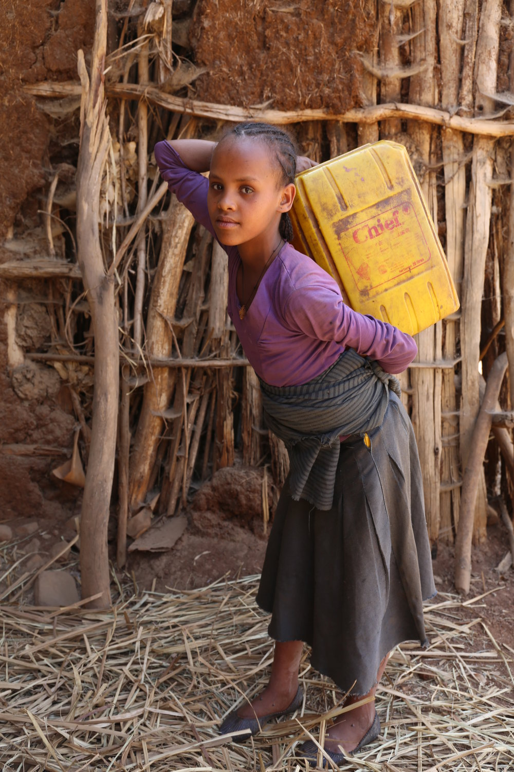 Nitsuh - Amhara, Ethiopia. - WaterAid/Behailu Shiferaw
