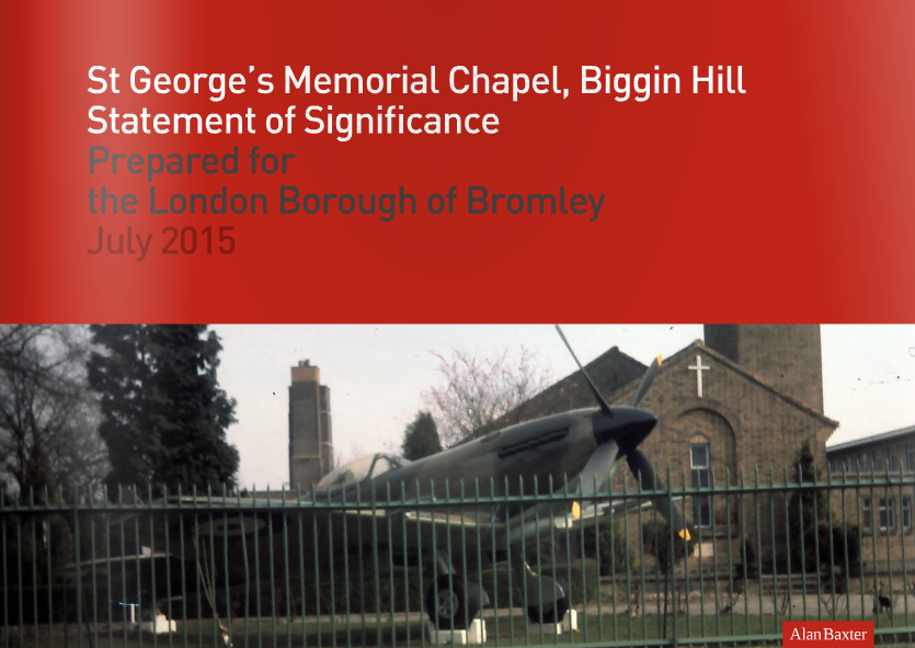 Click to download the Statement of Significance for St George's Chapel