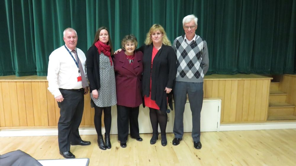 Biggin Hill Memorial Museum Trustees, the Museum Development Manager and Clare Walker