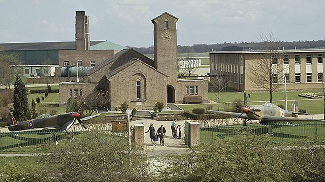 St George's RAF Chapel of Remembrance in the 1960s