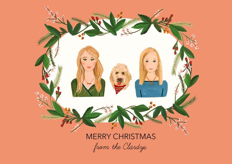 Custom Christmas Cards.Custom Greeting Cards Kc Linn