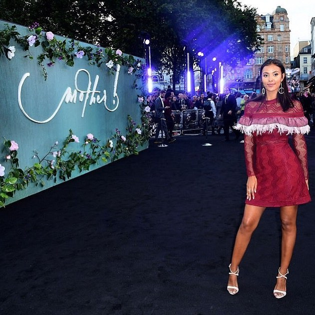 Maya Jama on the black carpet for the UK premiere of Mother! on Wednesday night!  The TV presenter and radio host who recently fronted Channel 5 documentary 'When Dad Kills: Murdered in the Family', will be co-presenting ITV's new Saturday night show Canonball, airing later this year. . @mayajama @paramountuk @mothermovie#mothermovie #motherpremiere #redcarpet #blackcarpet#papped #film #thriller #horror#filmcommunity #believeinfilm#londoncalling #itv #tv #brandrevtalent#brandrevfilm #influencerintegration