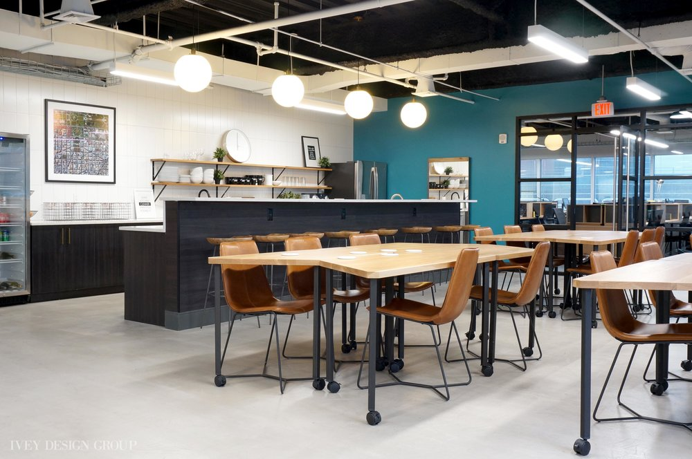 Employee Lounge at DRT Strategies