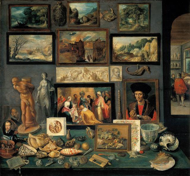 Frans Francken's Kunstkammer, 1636