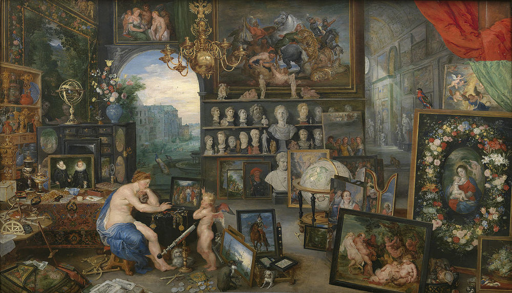 Jan Brueghel the Elder and Peter Paul Rubens, Allegory of Sight, 1617, Museo del Prado