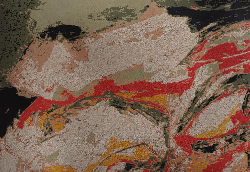 Chen Li, Heat, 2005, woodcut print, 2004, 80cm x 55cm