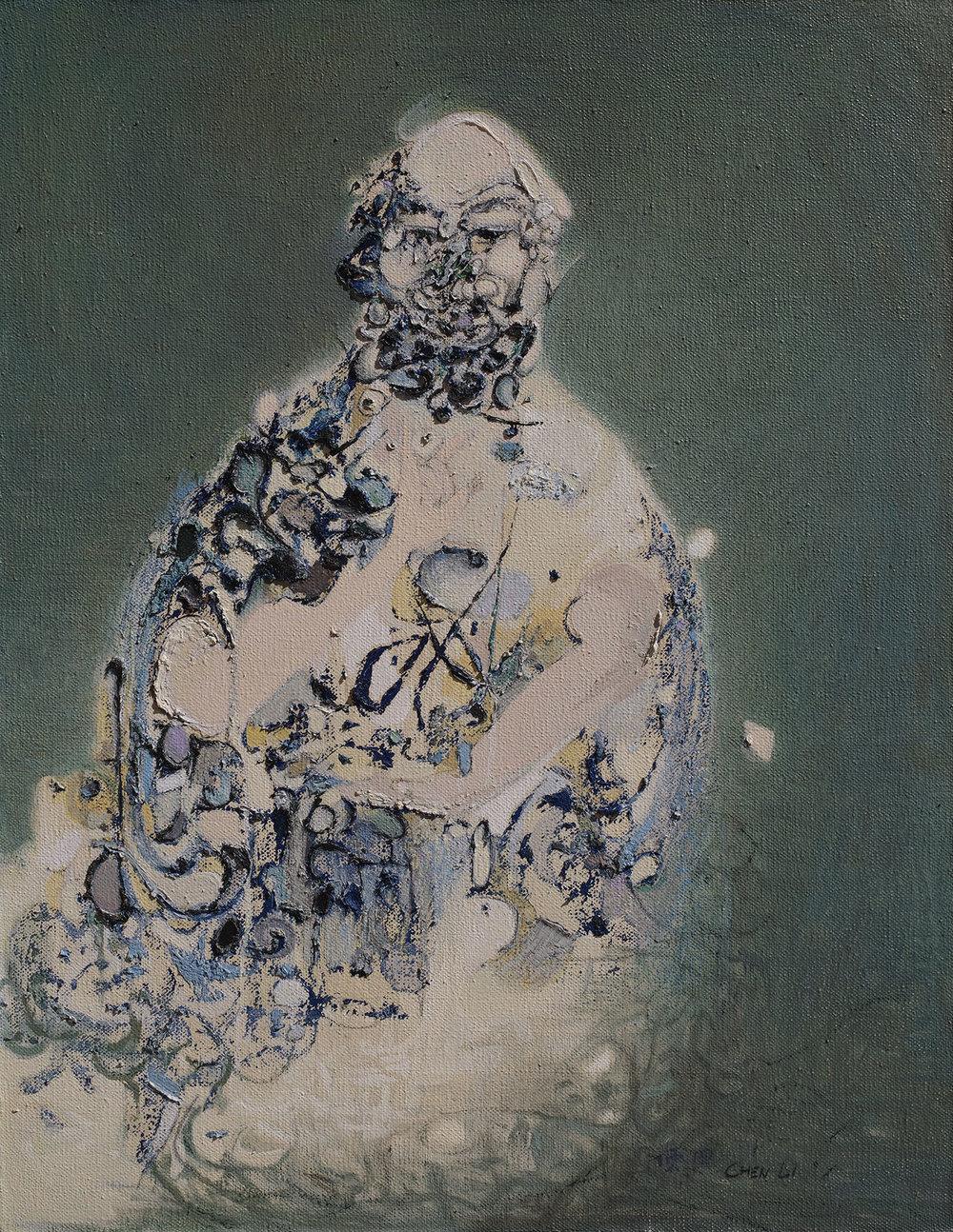 Seated Human Buddha II