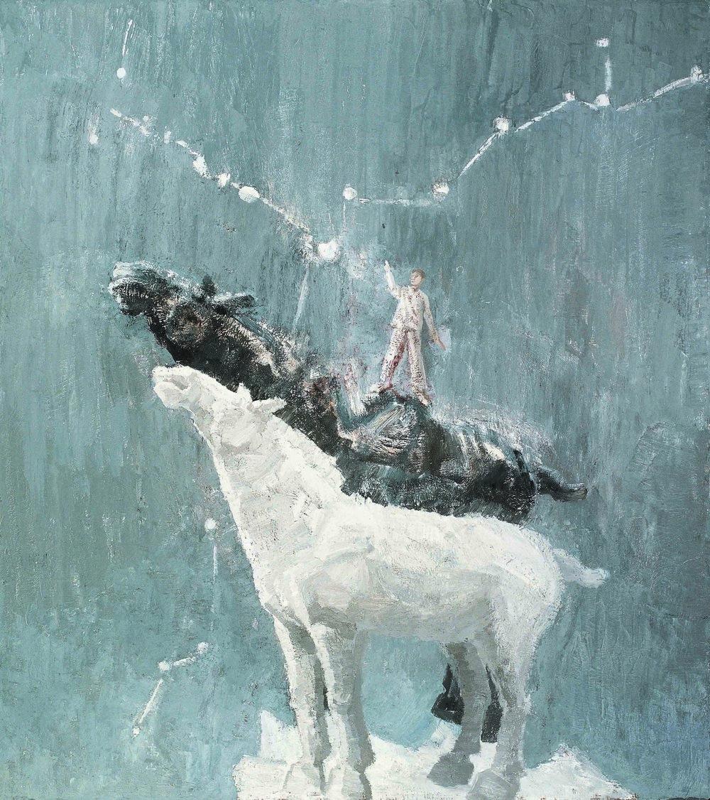 4. The Dreams: Triones    180x160cm  Oil on Canvas  2011   梦 --- 北斗星   布面油画.jpg