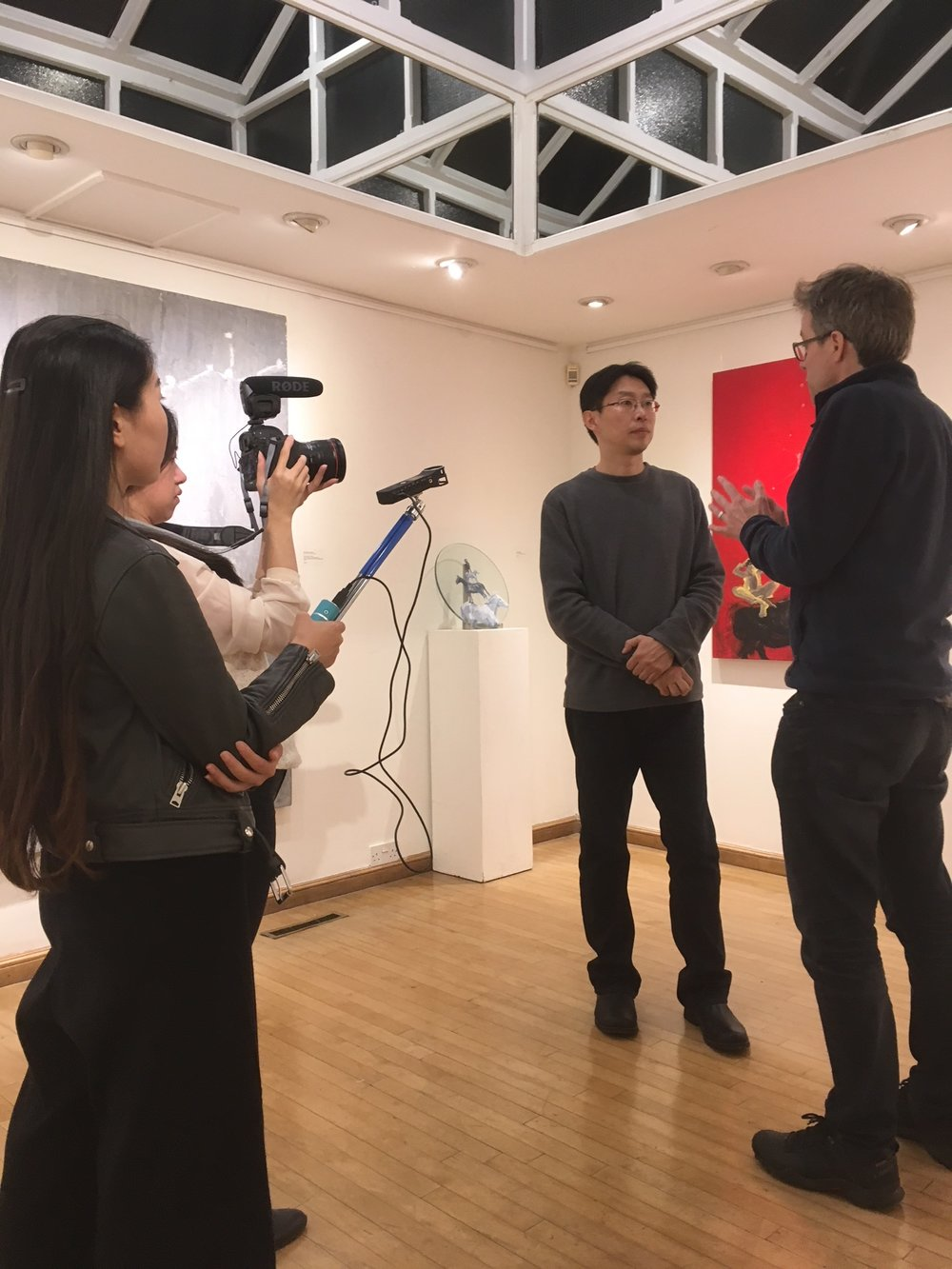 Thrilled to have a filmed interview of Gao Xiang by Jonathan Kearney, artist and Postgraduate Programme Director at Camberwell College of Arts. Stay tuned for the video.