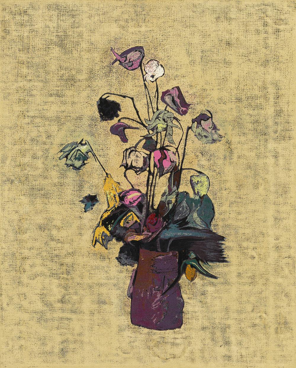 Vase. Life of a Rose