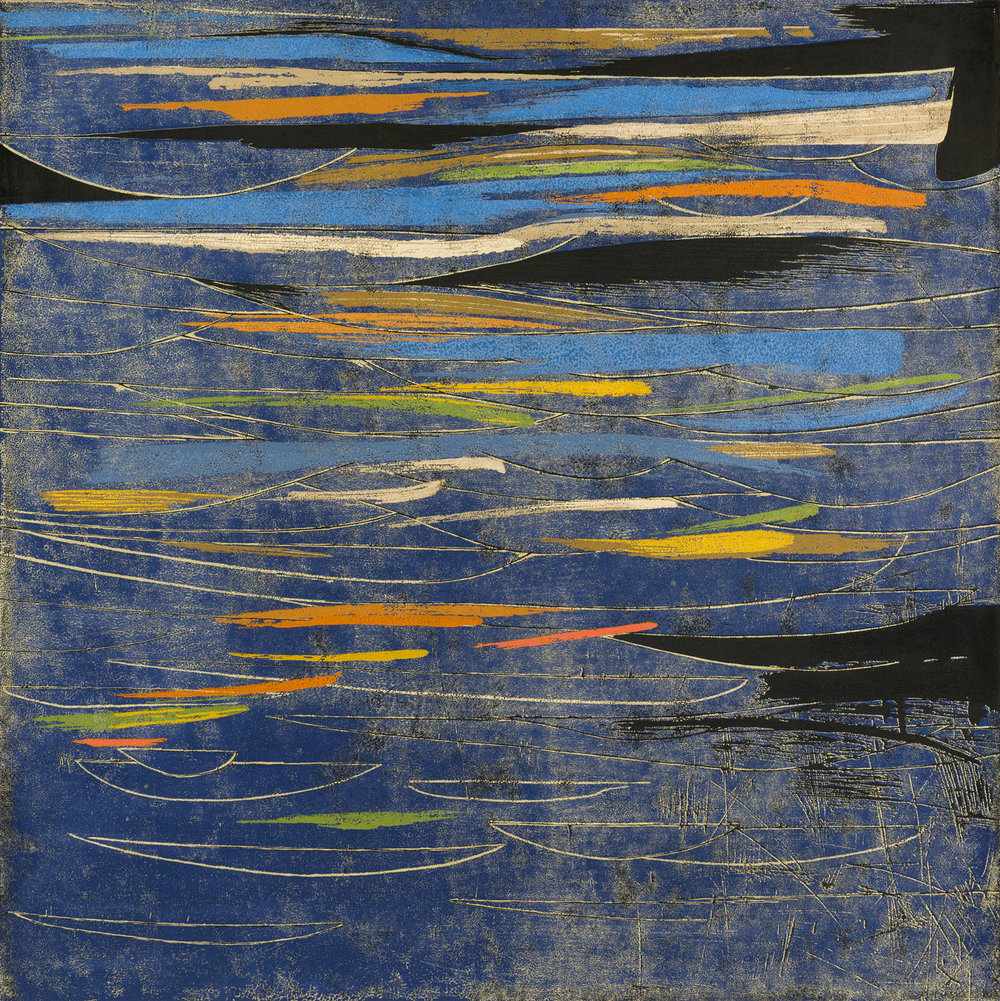 Reflections in a Blue Lake, 2010, 115 x 115cm.jpg