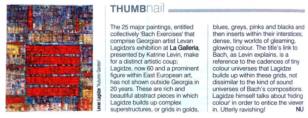 Galleries Magazine Editorial