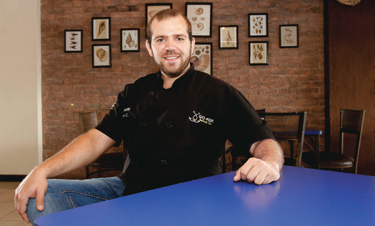 Expositor: Alberto Cubero, Chef de Go Fish Seafood Co.