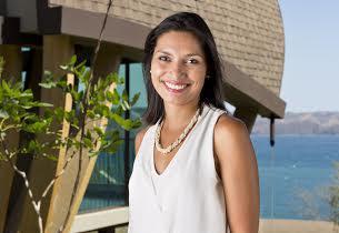 Mariella Cabezas. Gerente de Mercadeo del Hotel Andaz   Peninsula Papagayo,