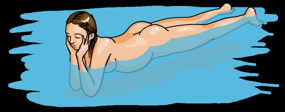 Floating Mom Gomiti in Appoggio