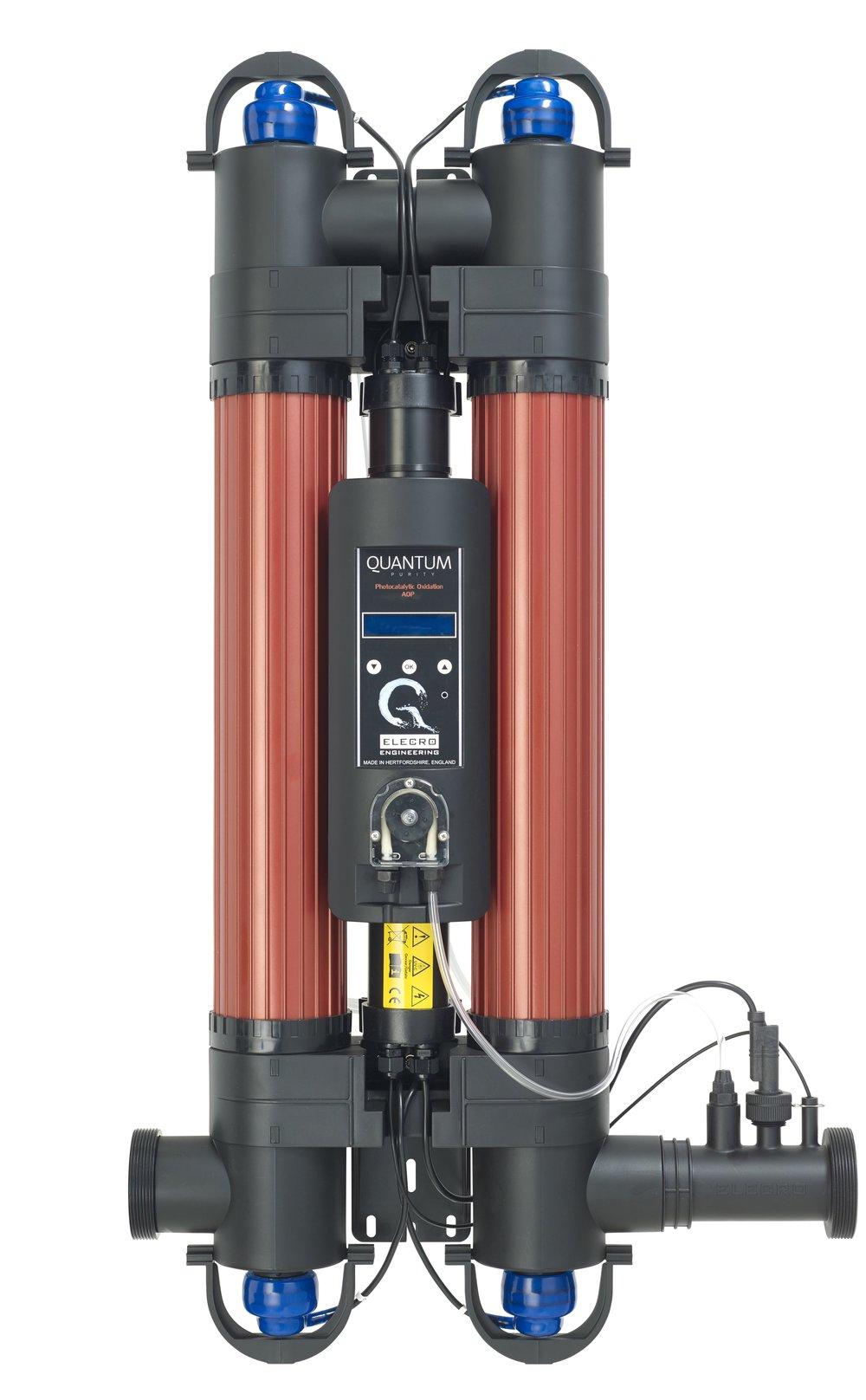 QUANTUM doppia lampada + pompa dosatrice e indicatore durata Lampada