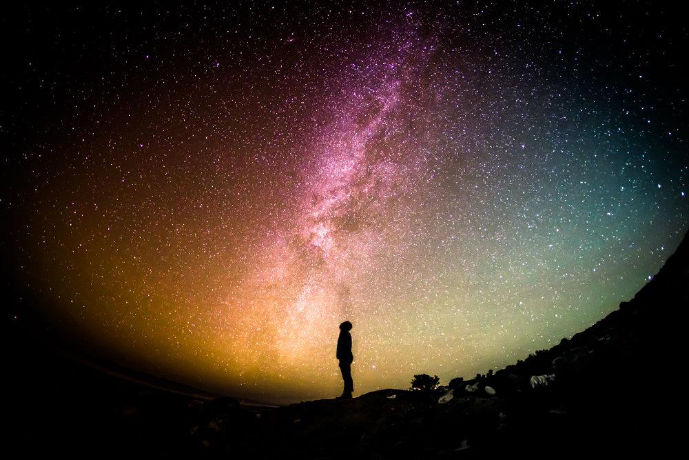 Potrai provare un senso di vastità; un vuoto spazioso.