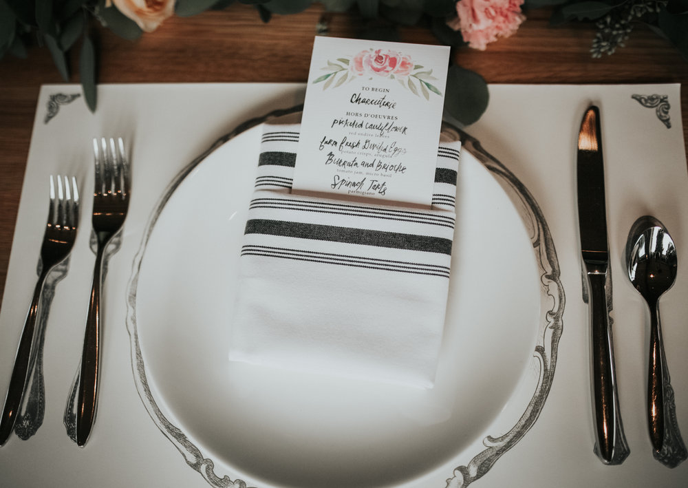 laguna beach bridal shower menu