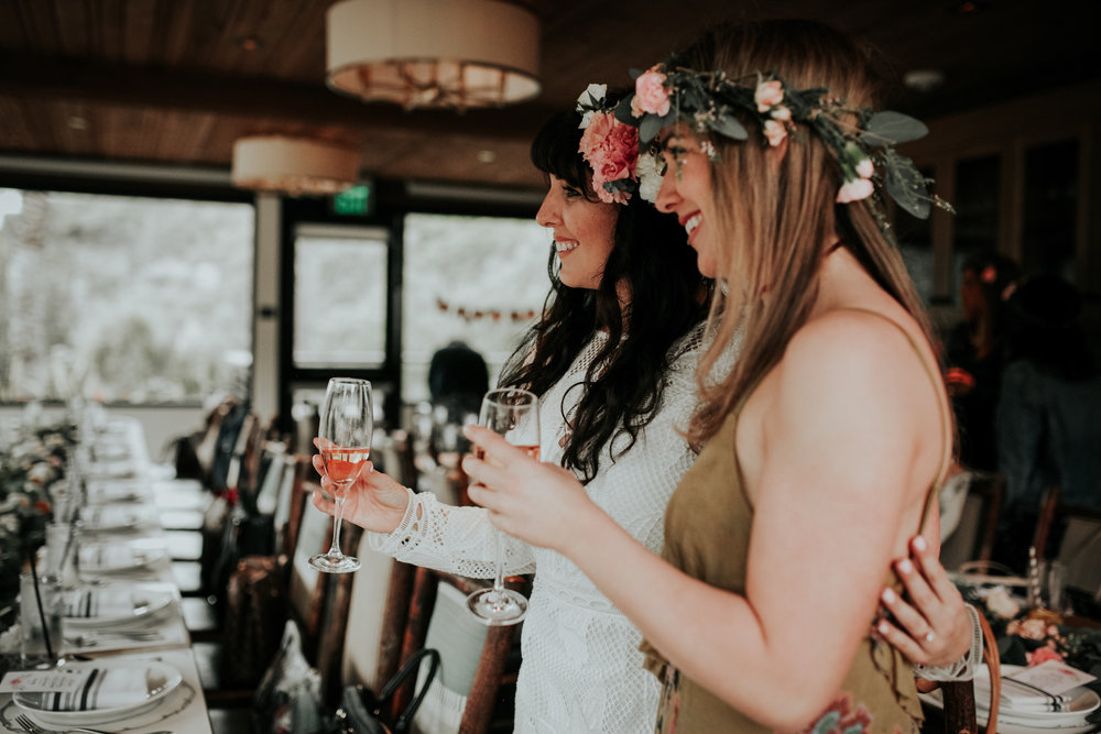 laguna beach bridal shower flower crowns