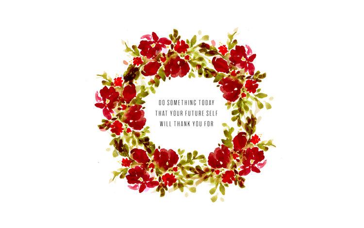 Thanksgiving Watercolor Art For Your Desktop